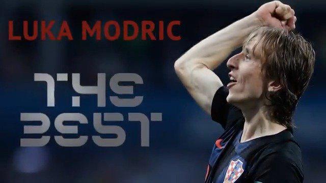 Los méritos de @lukamodric10 para convertirse en #TheBest... ¡Haz hueco!