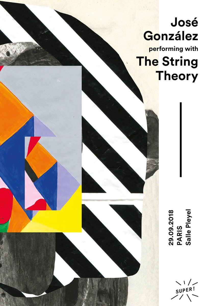[ À NE PAS RATER ! ] @_JoseGonzalez_ & #thestringtheory Samedi 29 septembre- @sallepleyel Billet en vente : https://t.co/Jdpj0RQS23 Concert d'une intense beauté, rare !  VIDÉO : https://t.co/xcBY4