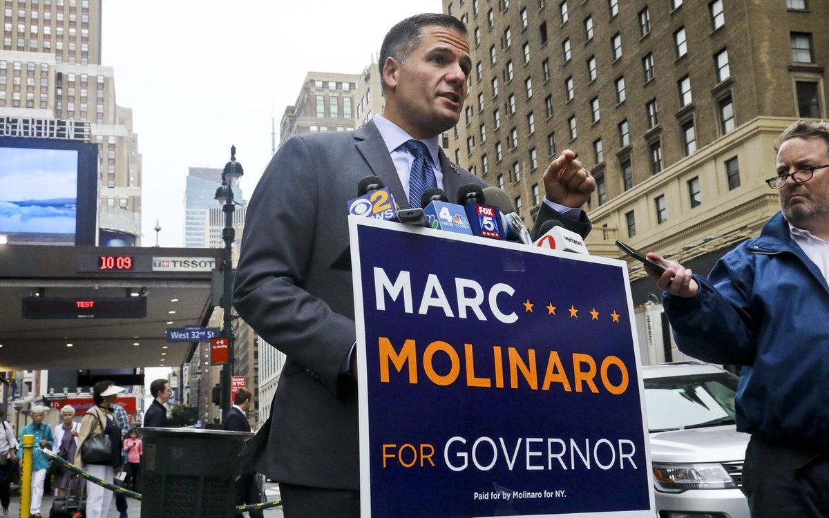 Trump not expected to help Marc Molinaro or other New York GOPers in upcoming elections https://t.co/cFPWHhta9y