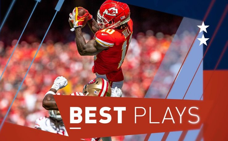 More magic from the Kansas City Chiefs' Tyreek Hill and Patrick Mahomes, and the Miami Dolphins high-fiving before scoring a touchdown.  It's the plays of the week from the NFL.  ➡ https://t.co/4FXRx25bcj