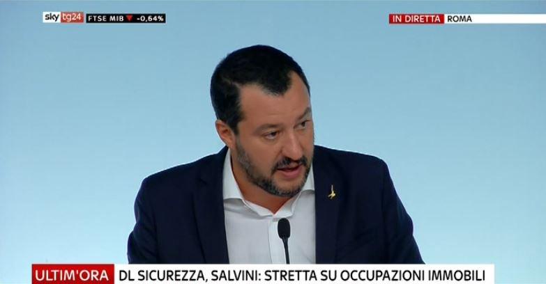 #UltimOra DL #Sicurezza, Salvini: stretta su occupazioni immobili #Canale50 http://sky.tg/direttaskytg24  - Ukustom