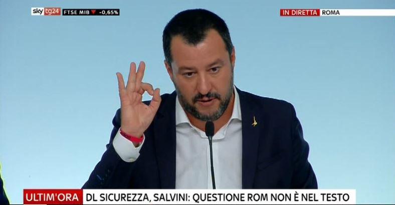 #UltimOra DL #Sicurezza, Salvini: questione Rom non è nel testo, ma mio obiettivo è campi zero #Canale50 http://sky.tg/direttaskytg24  - Ukustom