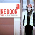 Image for the Tweet beginning: BRE supports #FireDoorSafetyWeek – five
