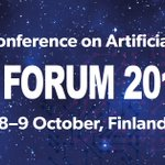 Image for the Tweet beginning: AI Forum 2018 alkaa kahden
