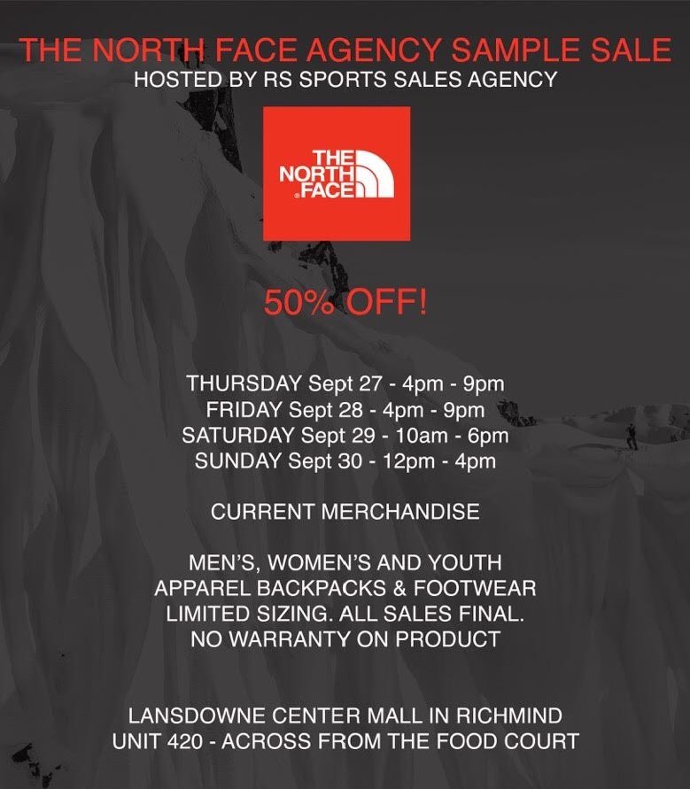 Sales Agency SAMPLE SALE by RS Sports Ltd  (@tnfsamplesale