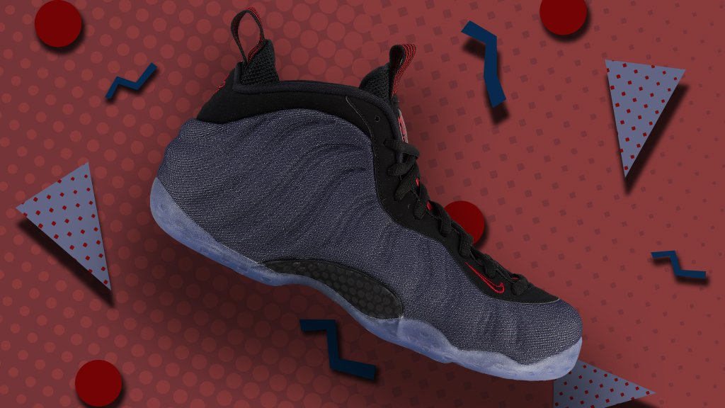 98c94e6d7b9 fresh denim vibes on the nike air foamposite one are you copping the newest  foam on