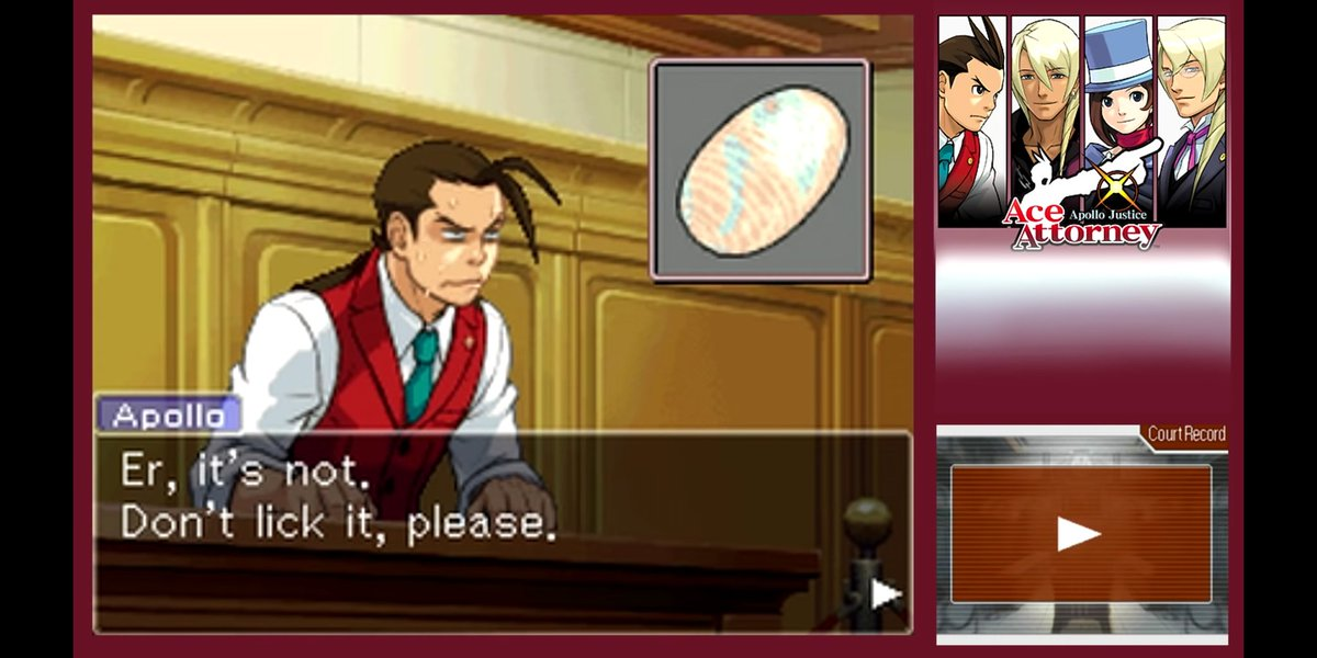 Lucahjin On Twitter It S Time To See How Lucky I Am And Stick It To The Man Https T Co Gek1efoj8e Https T Co Gek1efoj8e Ace attorney is the fourth game in the ace attorney series, published by capcom, and the first title in the series developed specifically for the nintendo ds. twitter