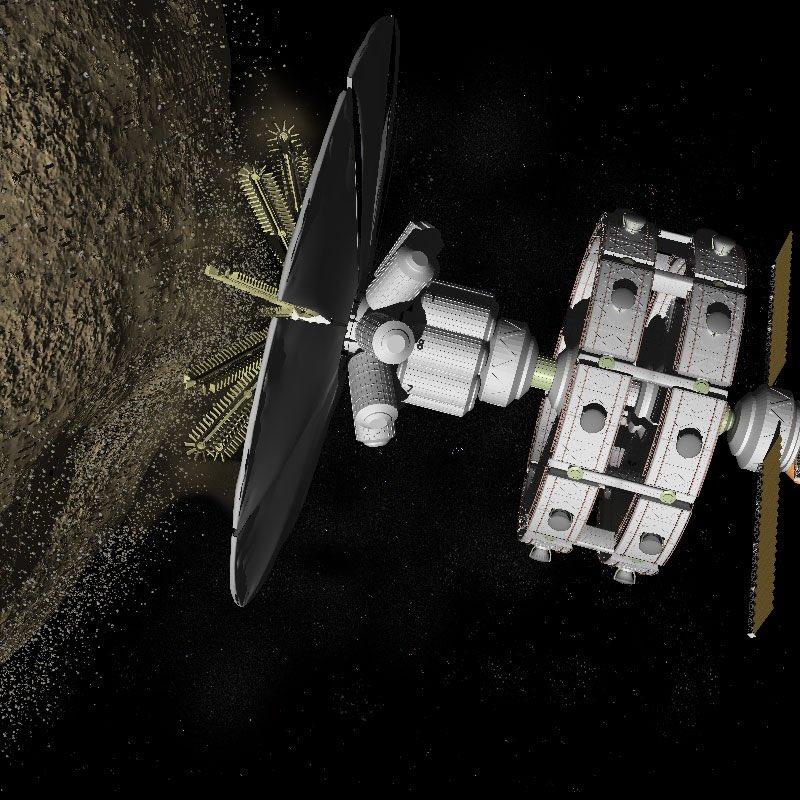 asteroid mining machinery - 800×641