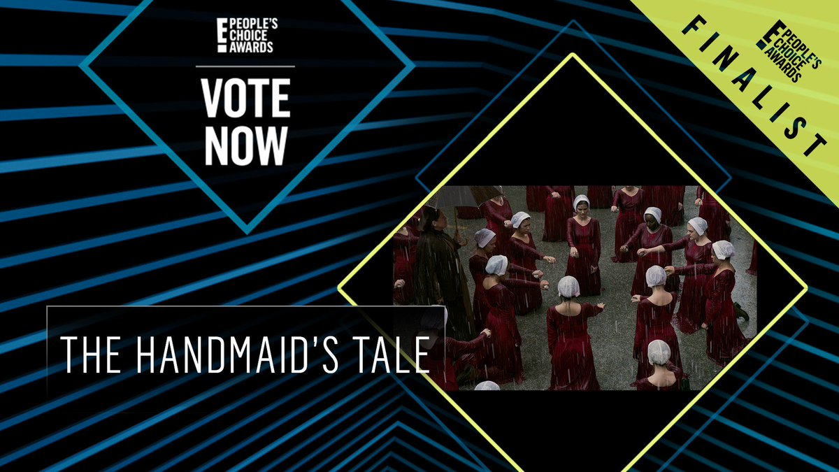 Vote for The Handmaid's Tale by retweeting this post: #TheHandmaidsTale #TheDramaShow #PCAs