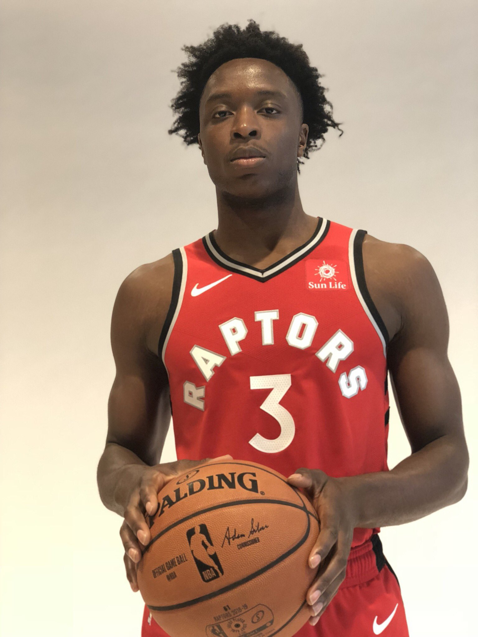 Year 2️⃣ ready. @OAnunoby.  #NBAMediaDay https://t.co/Uk8uEbMbJ0