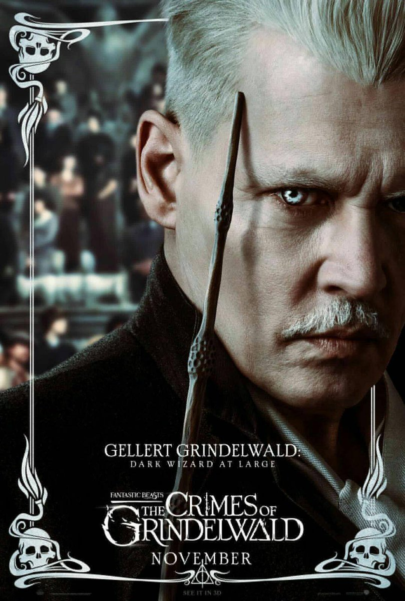 New #TheCrimesOfGrindelwald posters! Dumbledore and Grindelwald! <br>http://pic.twitter.com/Su514yLga7