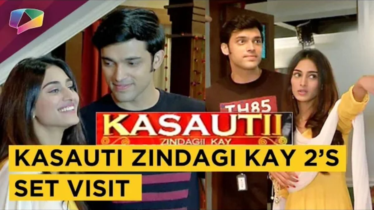 Parth literally asked Erica &quot;Kya kya khana hain?&quot; When they were visiting the kitchen  @IamEJF Such a foodie @LaghateParth   Set visit #KasautiiZindagiiKay  Interview by @indiaforums   Link 》 https:// youtu.be/X_hYxO4KLC8  &nbsp;  <br>http://pic.twitter.com/s4kpK9b3CW