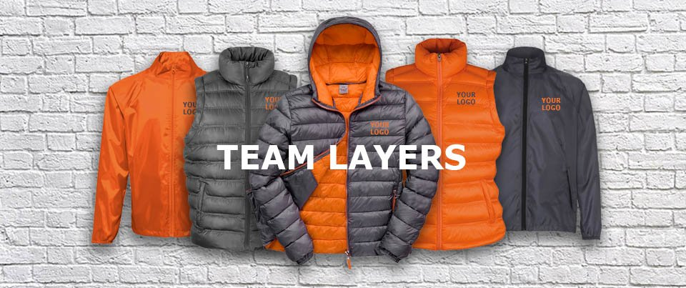 668ca746308 Layer up with coordinating pieces to keep you and your staff looking on  point during colder months   https   goo.gl fsBGCV  workwear  uniform  team   print ...