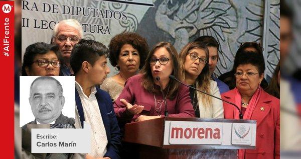 #ElAsaltoALaRazón | A la mayoría de Morena no se le da; La columna de Carlos Marín https://t.co/nMmPFMHJs8 https://t.co/3jALoNq6z8