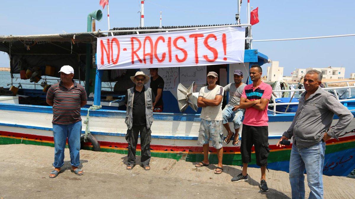 Liberi i sei pescatori che il 30 agosto a #Lampedusa erano stati arrestati con l'accusa di favoreggiamento all'#immigrazione #clandestina. Hanno fatto quello che la legge del mare e le #convenzioni internazionali impongono: salvare vite umane https:// www.dinamopress.it/news/la-solidarieta-non-un-crimine-rimessi-liberta-pescatori-tunisini-arrestati-lampedusa/  - Ukustom