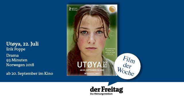 #Film der Woche: Utøya, 22. Juli https://t.co/GczdrMgh8m