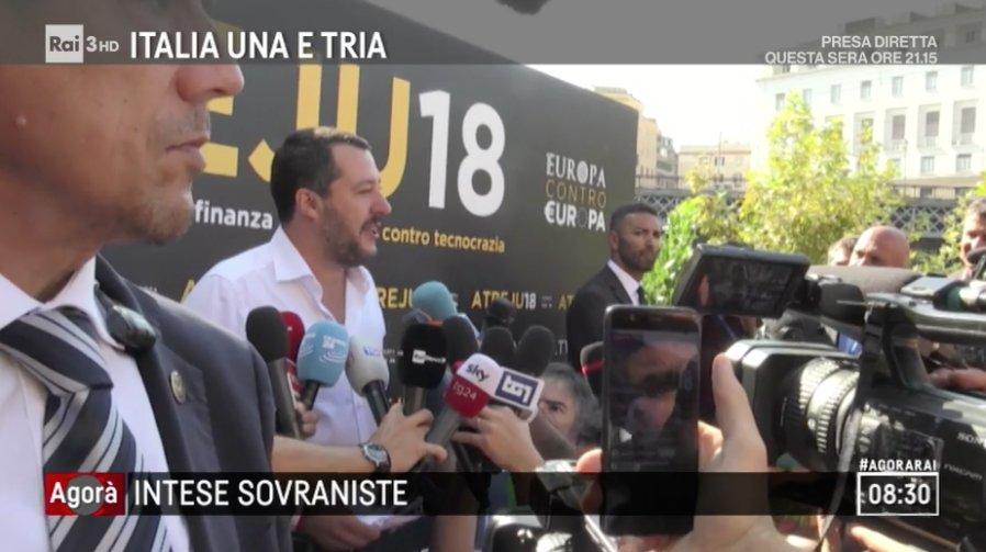 "#Salvini: ""Stiamo lavorando per essere in tutti i Paesi europei"".#Atreju, il racconto di @valeriabrigida  https://bit.ly/2OReu3G #agorarai  - Ukustom"