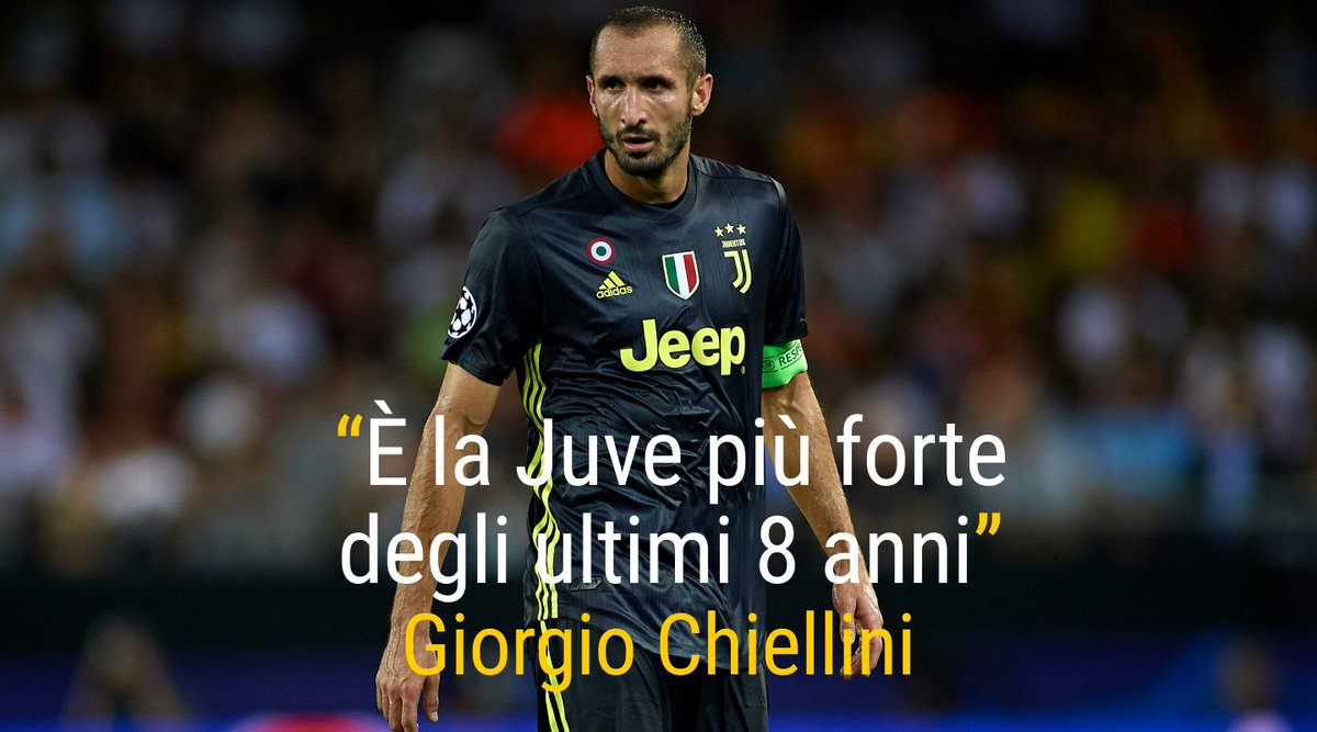 Quinto successo in 5 partite di campionato per la #Juventus di #Allegri e #Chiellini paragona la squadra attuale alle formazioni del passato.Sei d\