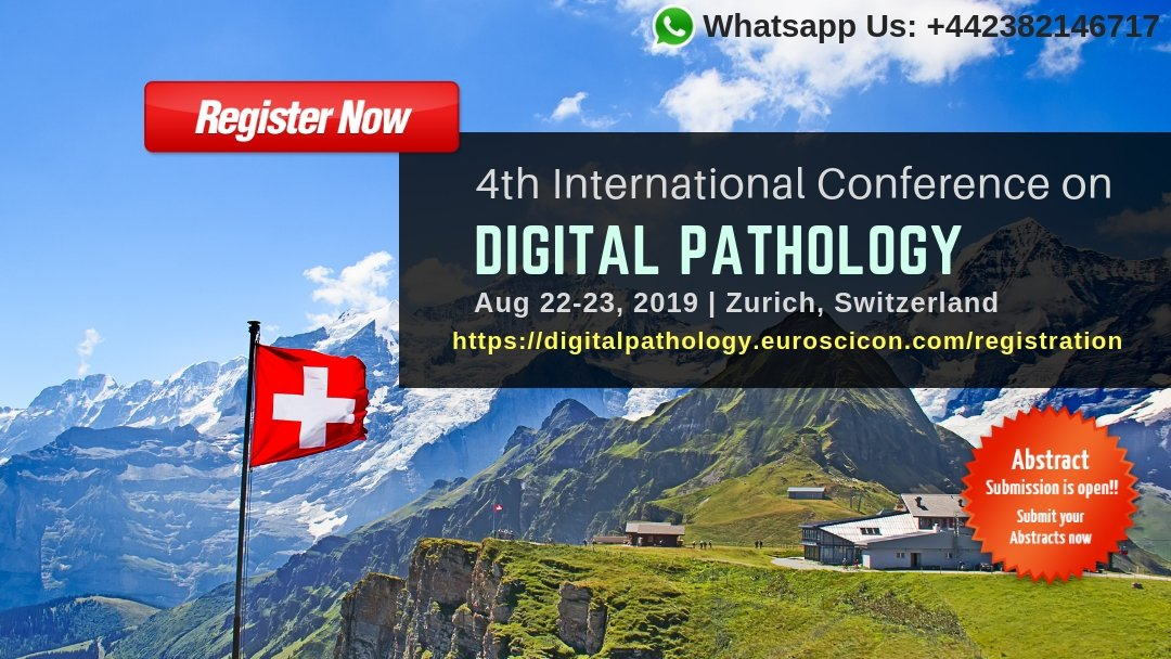 Digital Pathology 2019 on Twitter: