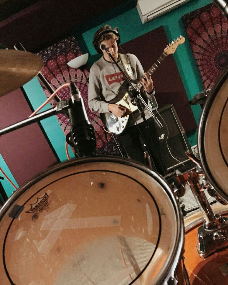 @The_Poets_Band have recorded two original tracks this weekend, coming out soon- showcasing some of the incredible musical talent coming out of the Sixth Form @BeechenCliff Beechen Cliff. Make sure to head to the Band's Night on Friday to see them play live.