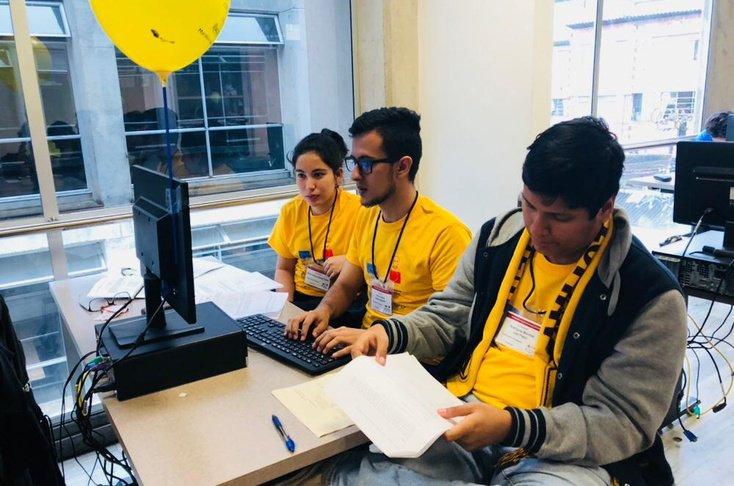 Jóvenes clasificados a Maratón Latinoamericano de Programación - UNIBAGUÉ