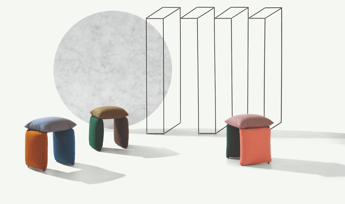 How #cute is Pillow!?! The newest addition to our #metalmobil collection https://t.co/z5g9tAemnO  #seating  #stool #pouf