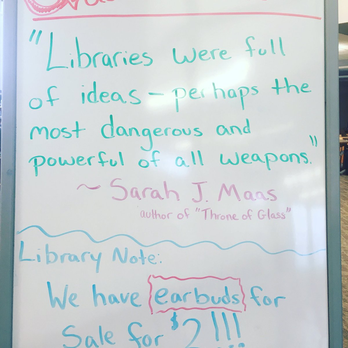 Starting a new tradition at NGC with our Author Quote of the Week. We are featuring one of my favorite author's this week, #sarahjmaas #authorquoteoftheweek<br>http://pic.twitter.com/5r9loSSlue