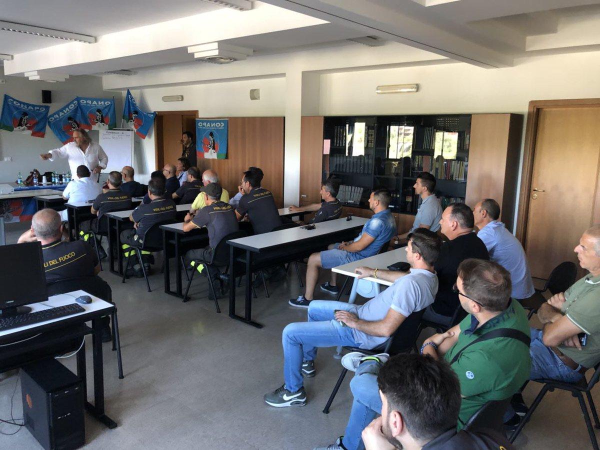 Il segretario generale del #Conapo #AntonioBrizzi incontra in assemblea i #Vigilidelfuoco di #Taranto  - Ukustom
