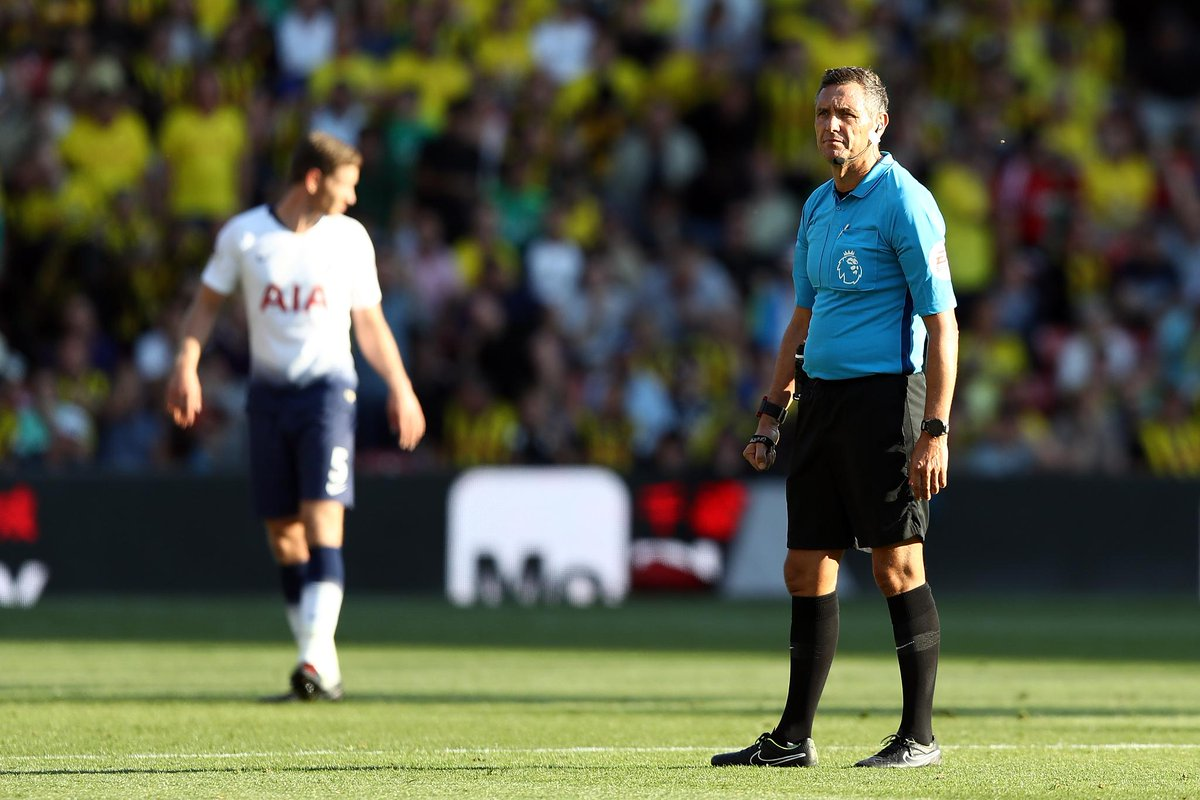 Referee appointments have been made for #PL Matchweek 7 (29 Sept - 1 Oct): https://t.co/tIRIP5N2i4