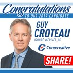 Image for the Tweet beginning: Welcome Guy Croteau to the