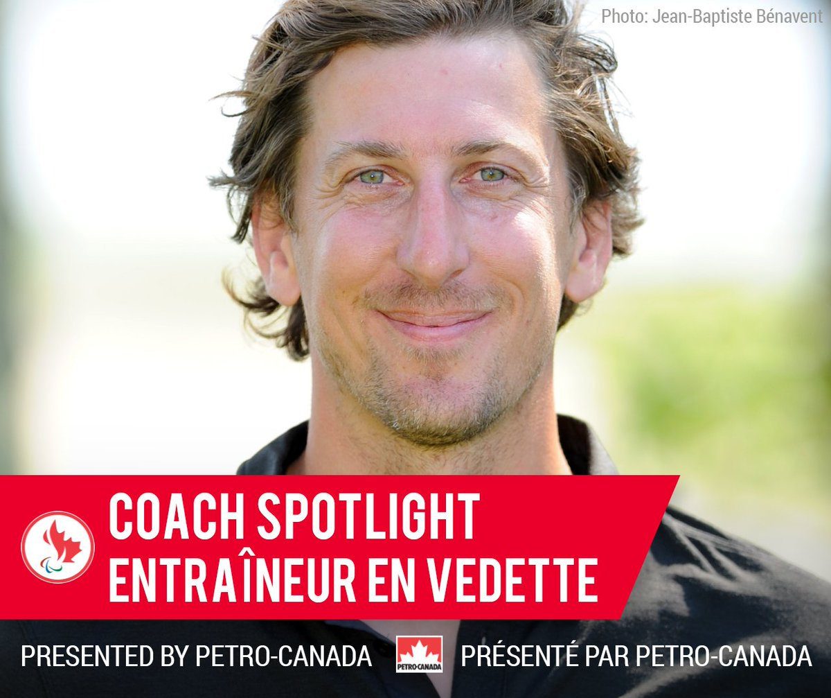 We are kicking off #CoachesWeek with the first instalment of our Coach Spotlight presented by @petrocanada. Our first spotlight features Sébastien Travers: the National Team Head Coach of the Canadian Para cycling program. @CyclingCanada [LINK]  http:// games.paralympic.ca/news/coach-spo tlight-sebastien-travers-emerges-one-canadas-most-successful-parasport-head-coaches &nbsp; … <br>http://pic.twitter.com/6UGUTx86eo