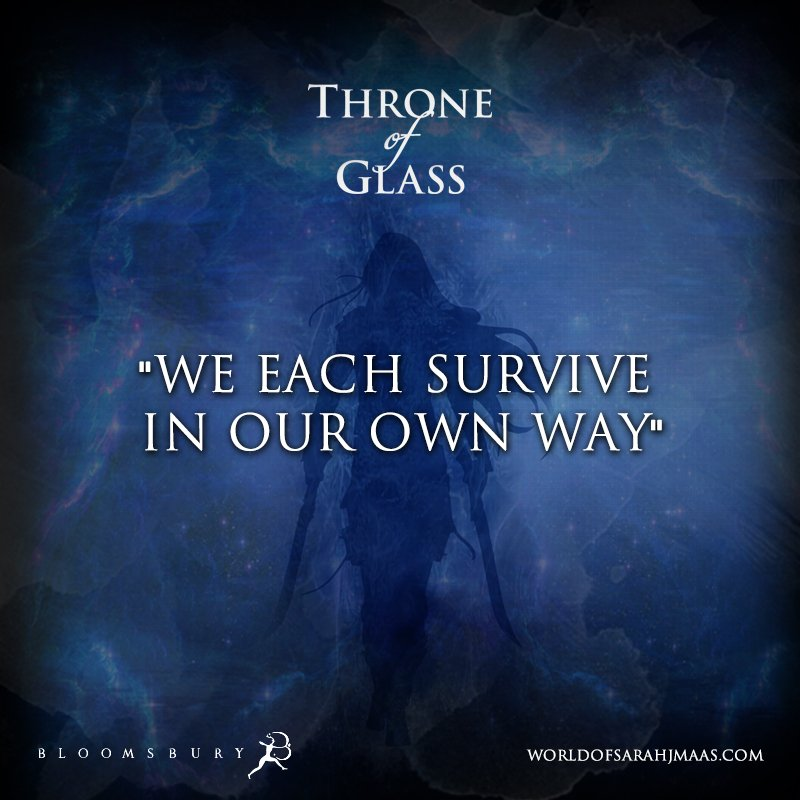 "When someone asks me, ""How do you survive Monday Blues?"" #SarahJMaas #ThroneofGlass<br>http://pic.twitter.com/I72gogQc7D"