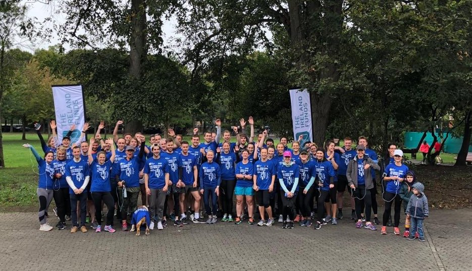 Sincere thanks @KPMG_Ireland for all your support of #YLGlobal5k and throughout the year.   Also, a huge thanks to all your lovely staff for getting so involved in Dublin and Belfast on Saturday.