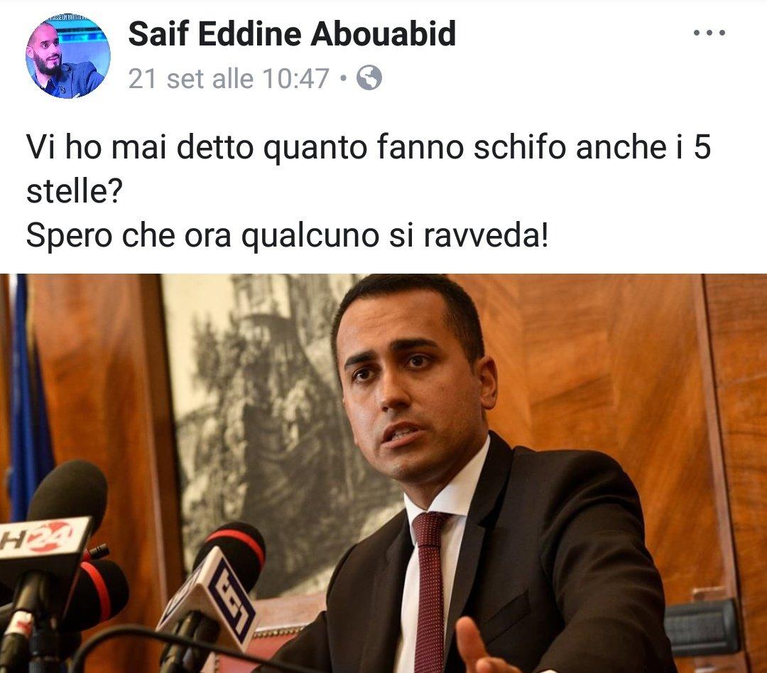 """Referente Comunità islamiche di #Milano...  """"vi ho mai detto quanto fanno schifo anche i #5Stelle?"""" SaifVI MANCANO I #Pdioti vero?   - Ukustom"""