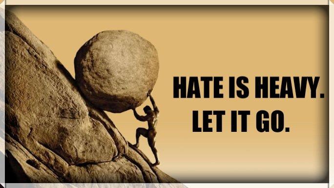 Liz Johnson On Twitter Rt Httpstcosnreg5ehjg Hate Is Heavy