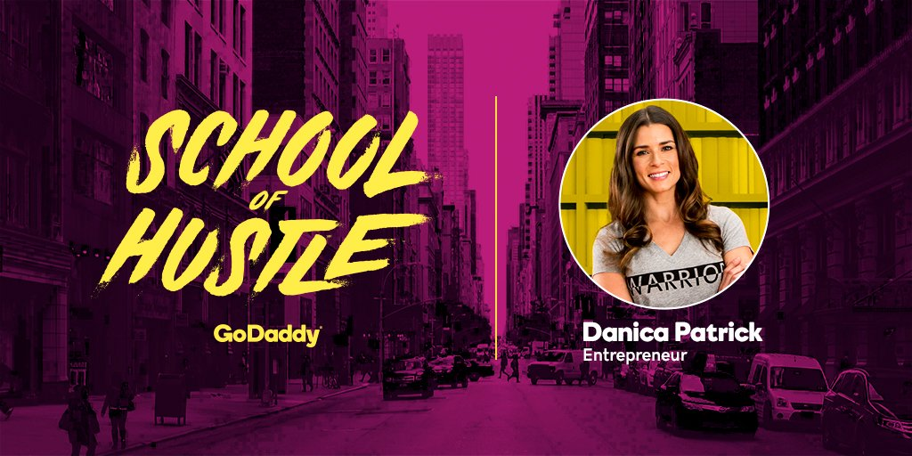 Danica is coming to School of Hustle on September 26. Ask us questions for a chance to have them answered by @DanicaPatrick in an upcoming episode.
