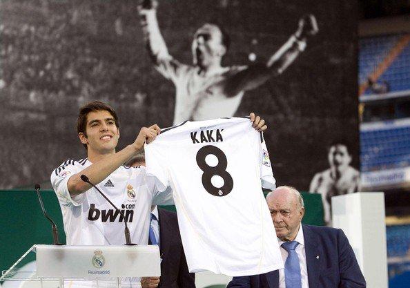 Kaka and Alfredo Di Stefano#Brazil #Argentina #Spain #RealMadrid #HalaMadrid  - Ukustom