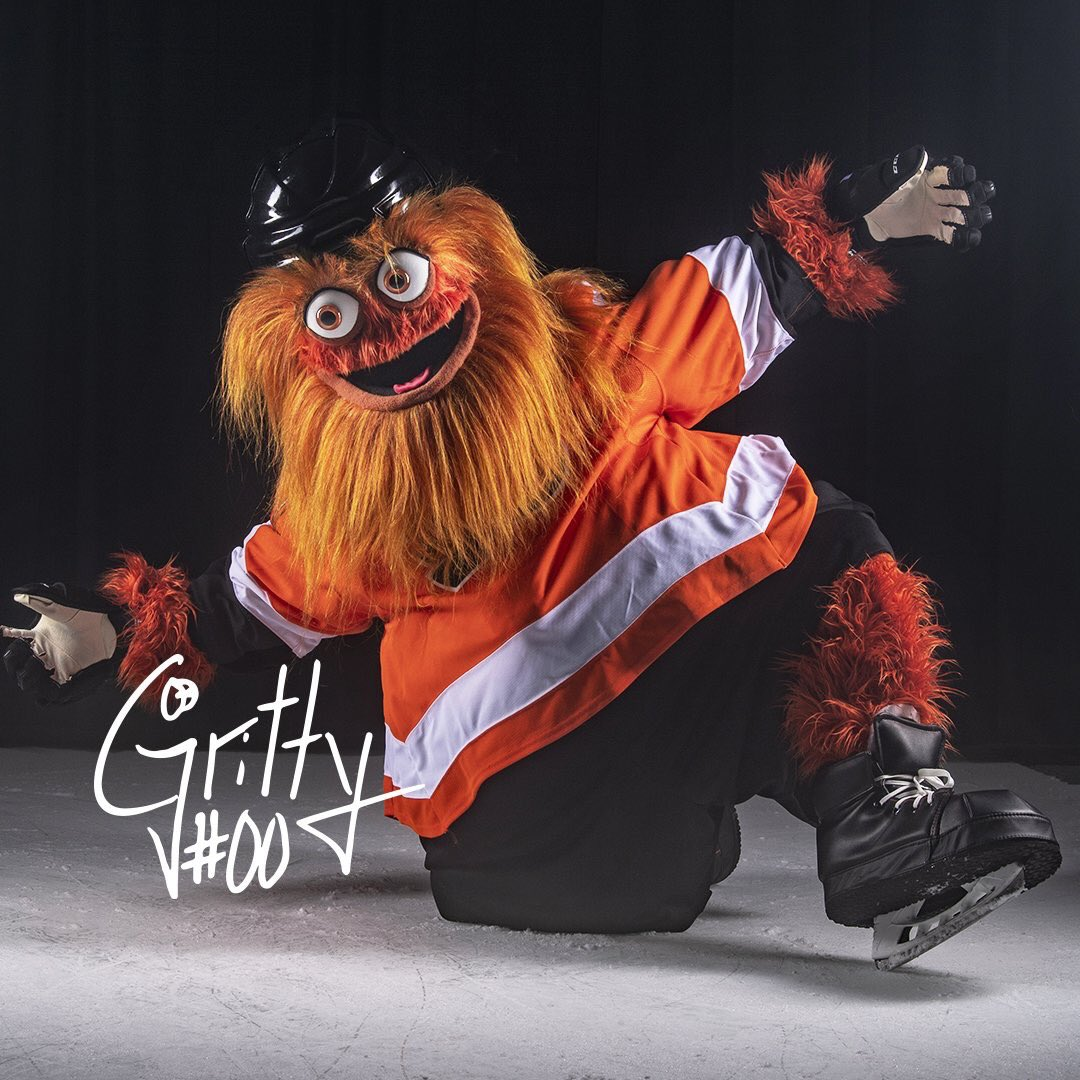 Gritty, America's sweetheart - Magazine cover