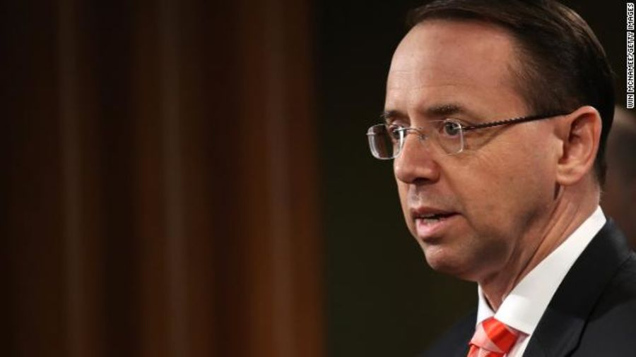 Sources: Rod Rosenstein told White House he would resign, work out details on Monday https://t.co/g5dqYiD5vI