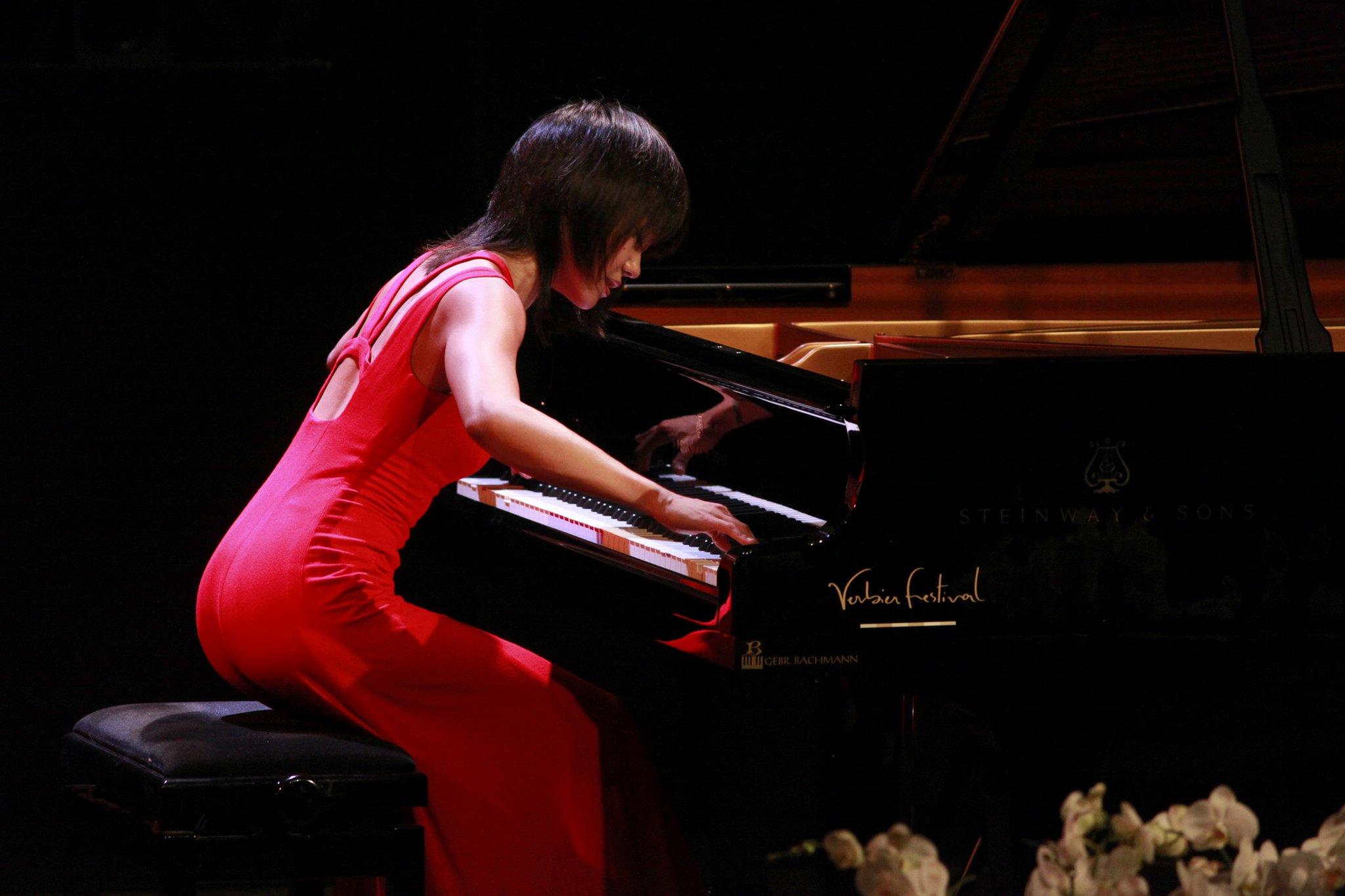 Reloaded twaddle – RT @DGclassics: Having made her @VerbierFestival debut ten years ago, @YujaWang ...