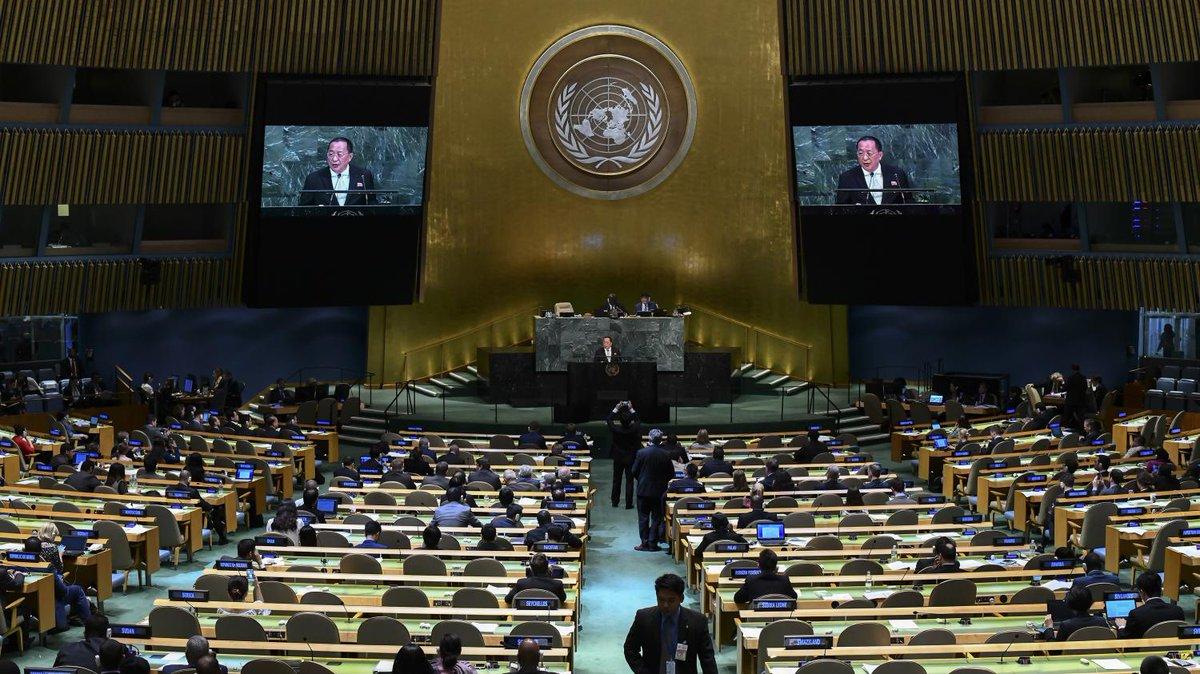 L'assemblée générale de l'ONU est 'un miroir qui reflète les fragmentations de l'ordre du monde' selon le politologue Dominique Moïsi  https://t.co/bNkbpCOHU9