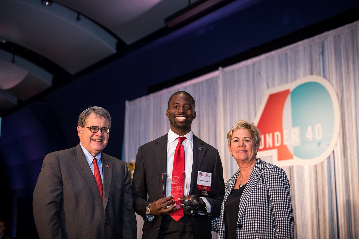 Honored and humbled to be a part of the 2018 UGA 40 under 40. #AlwaysADawg #UGA40U40
