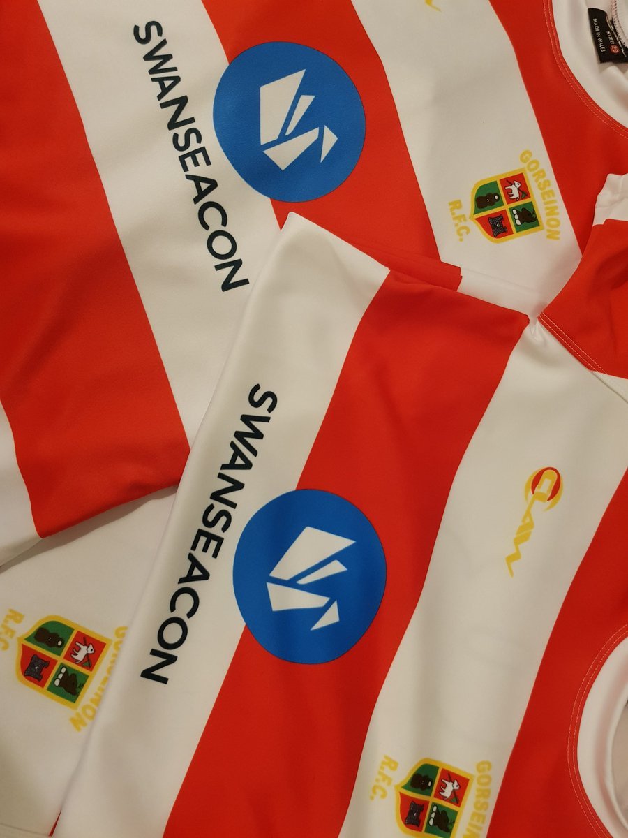 Look what arrived today,  #GorseinonRFC under 7s kits! We're proud to be sponsoring these for the 2018/19 season - thank you head coach @carly689.   We love & always support teaching children to code via @CodeClub 🖱⌨ but it's also important to stay fit and have fun outdoors! 🏉