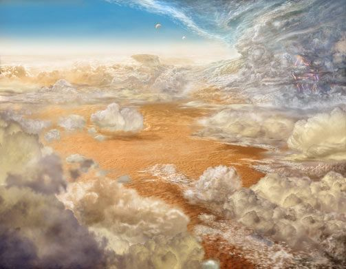 #Space #Art: artist's impression of what #Jupiter's atmosphere could look like https://t.co/NuPCodT7qu via @Naukas_com