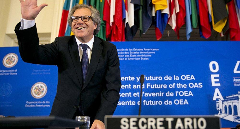 Líder da OEA deveria renunciar após incitar intervenção na Venezuela, diz a CUT - https://t.co/MXCaE81eQw
