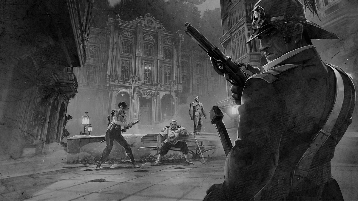 Even in concept art form, the guards find you. <br>http://pic.twitter.com/1lxRcjcpb0