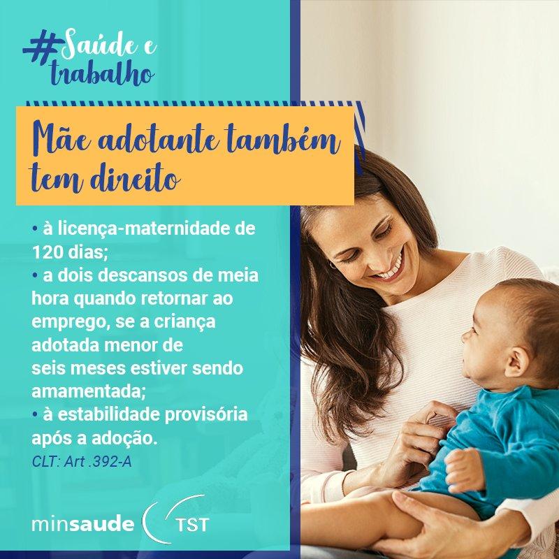 O vínculo entre uma mãe e seu filho ou sua filha é fundamental para a saúde e o desenvolvimento da criança.  #SaúdeETrabalho #SaúdeDaCriança #Adoção #GravidezInvisível