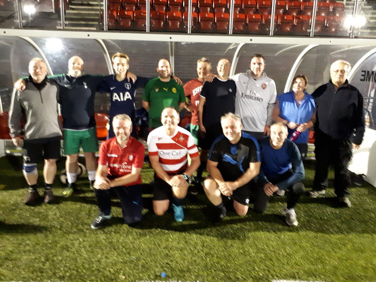 Great fun at tonight&#39;s #WalkingFootball session held at the Scarborough Sports Village.  #fun #friendship #football  @WalkingFootball @safc @NorthRidingFA @SN_Sport<br>http://pic.twitter.com/7UCfEtenFM