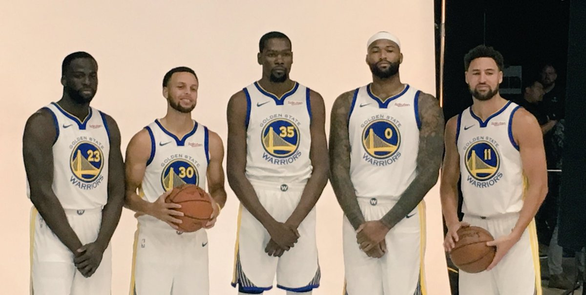 Best starting 5 of all time? #dubnation