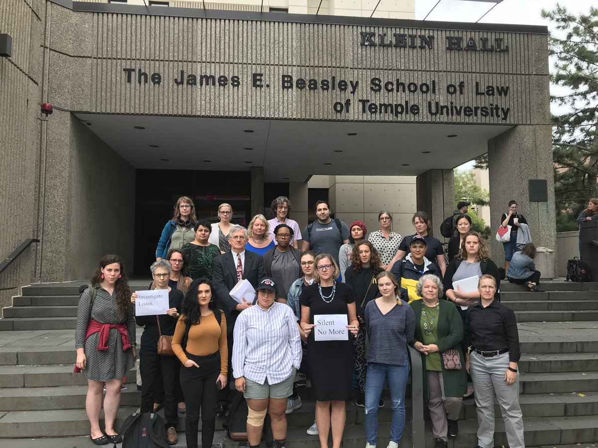Temple Law School >> Temple Law School On Twitter In Solidarity With Survivors